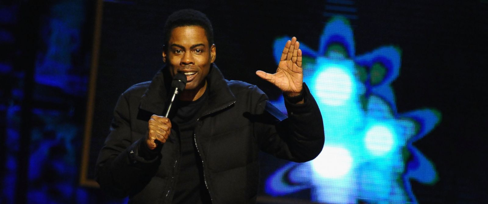 PHOTO: Chris Rock performs on stage at Comedy Centrals Night of Too Many Stars: America Comes Together For Autism Programs on Feb. 28, 2015 in New York City.
