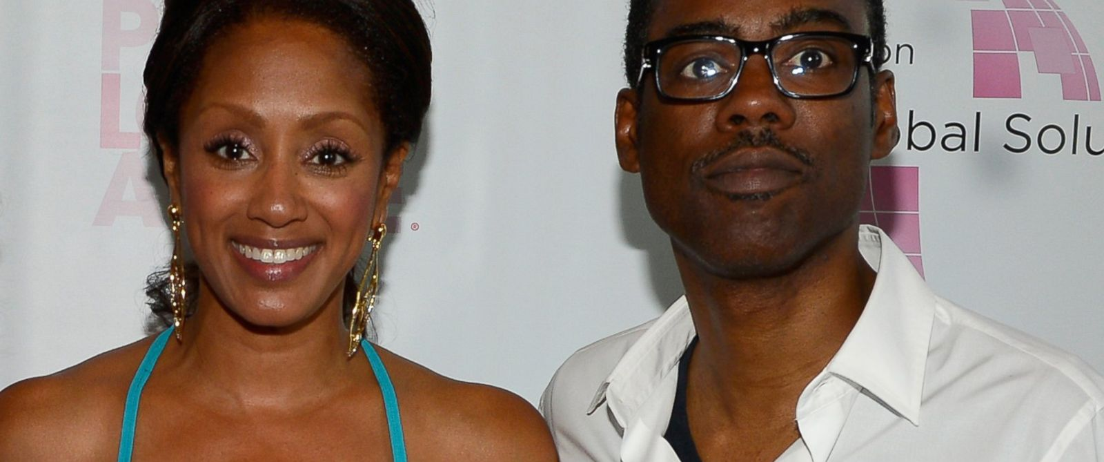 PHOTO: Malaak Compton-Rock and Chris Rock attend the 2013 Peace, Love & A Cure Triple Negative Breast Cancer Foundation Benefit on May 21, 2013 in Cresskill, N.J.