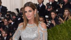Cindy Crawford Shines at the Met Gala in NYC