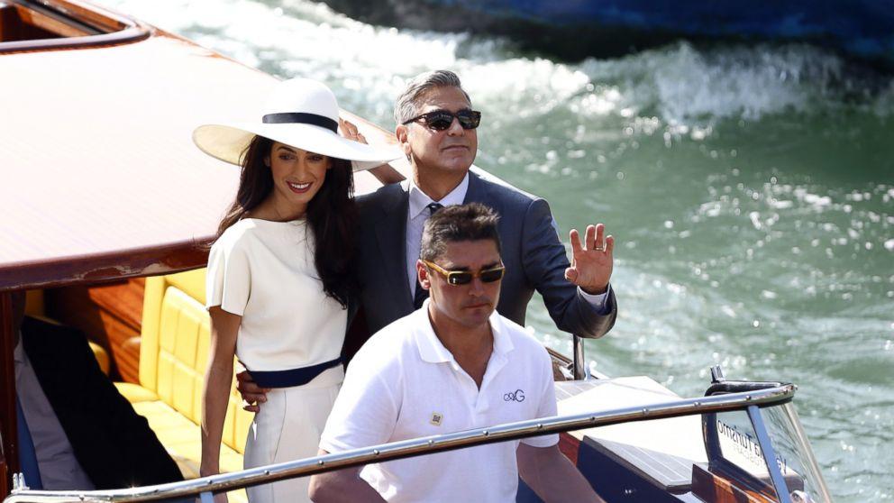 George Clooney Marries Amal Alamuddin In Civil Ceremony