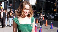 Emilia Clarke Dazzles in Green