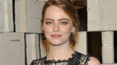 Emma Stone Goes for a Darker Do