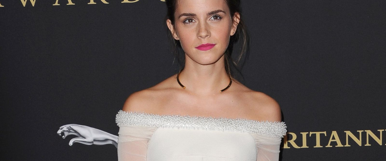 PHOTO: Actress Emma Watson arrives at the BAFTA Los Angeles Jaguar Britannia Awards at The Beverly Hilton Hotel, Oct. 30, 2014, in Beverly Hills, Calif.