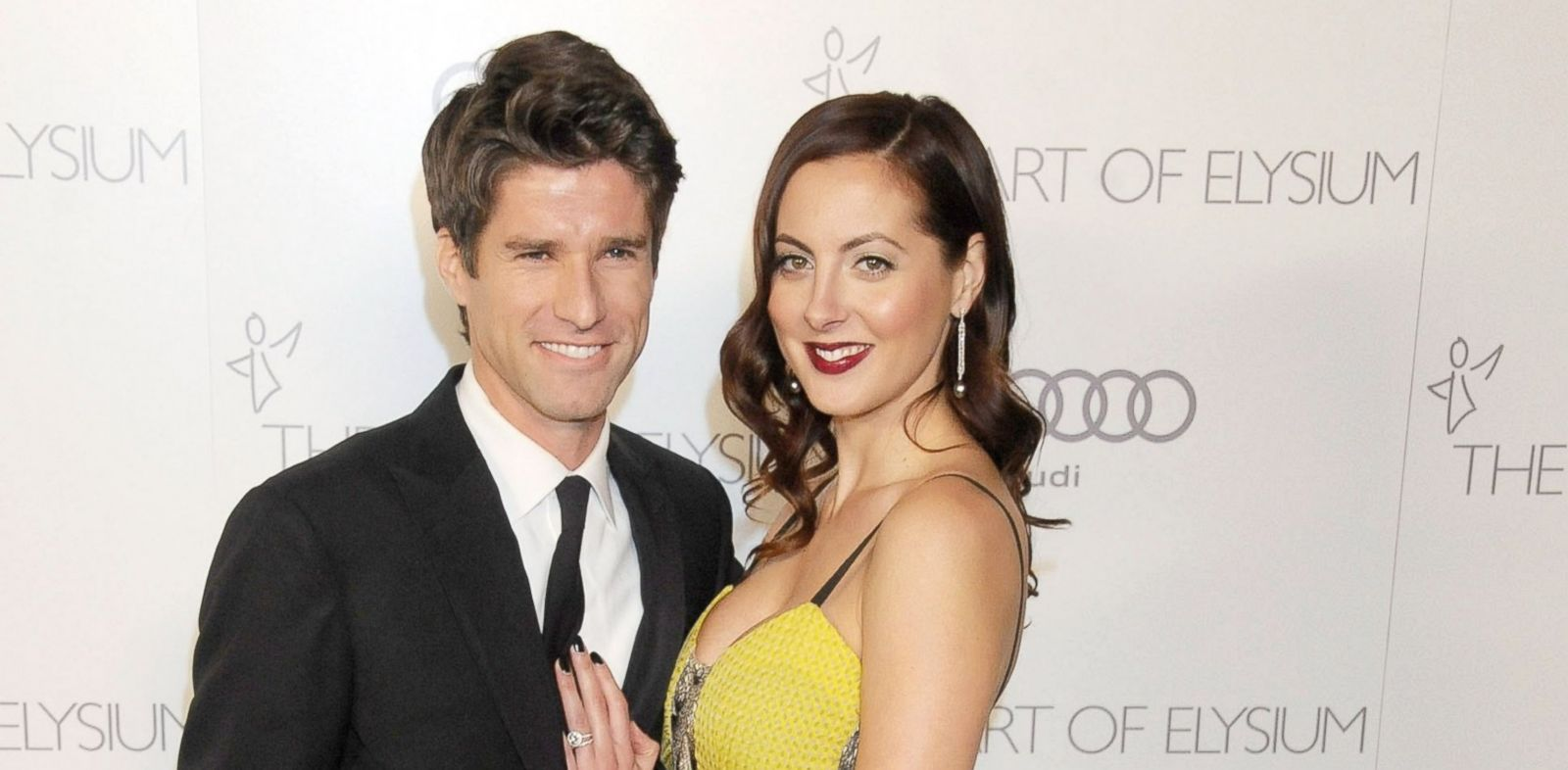 PHOTO: In this file photo, Eva Amurri Martino, right, and husband Kyle Martino, left, are pictured on Jan. 12, 2013 in Los Angeles, Calif.