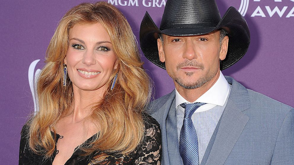 Tim mcgraw my wife faith hill has 39 great legs and i for How old are faith hill s daughters