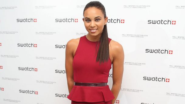 PHOTO: Louise Hazel attends the launch of Urban Expression by Swatch at Blackall Studios, Aug. 14, 2013 in London, England.
