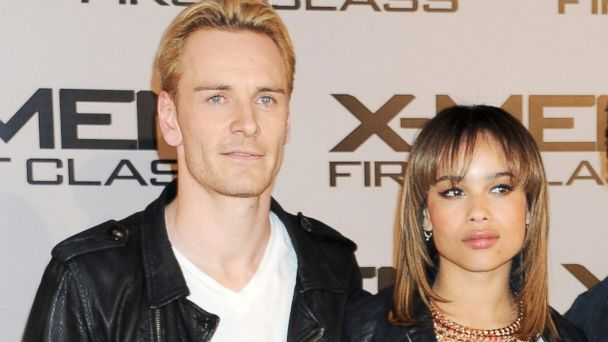 PHOTO: Michael Fassbender and Zoe Kravitz attend a photocall for X-Men: First Class at The Dorchester, May 23, 2011 in London, England.