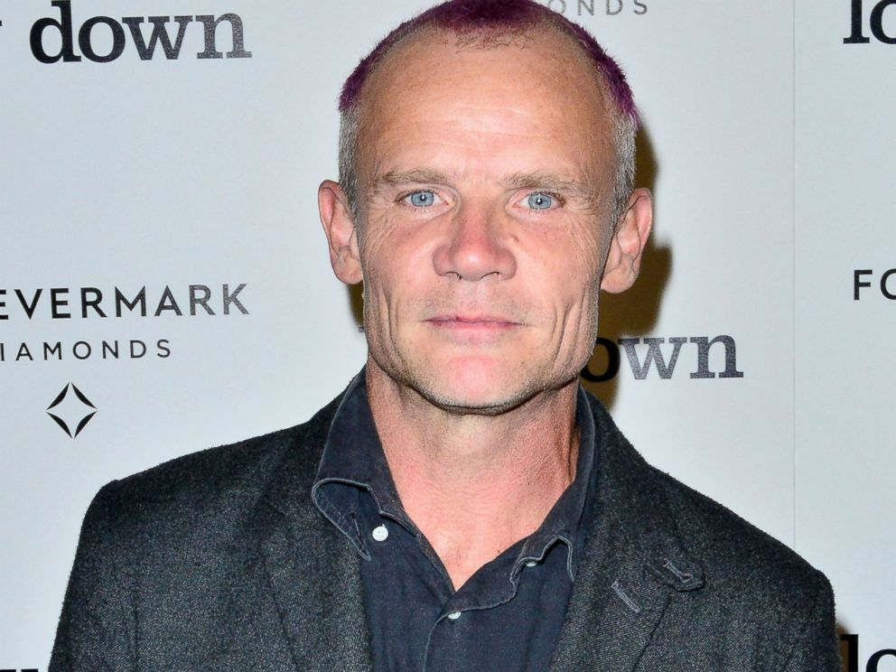 PHOTO: Flea arrives at the premiere of Lowdown at ArcLight Hollywood, Oct. 23, 2014, in Hollywood, Calif.