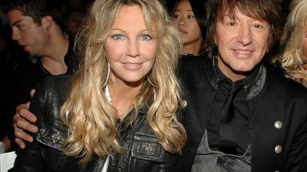 PHOTO: Heather Locklear and Richie Sambora attend Los Angeles Fashion Week in Hollywood, Calif.