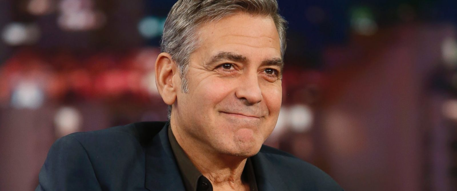"""PHOTO: George Clooney appears on""""Jimmy Kimmel Live,"""" Feb. 2, 2016."""