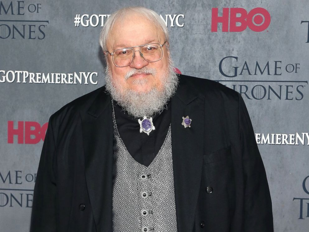 PHOTO: George R.R. Martin attends the Game Of Thrones Season 4 premiere at Avery Fisher Hall, Lincoln Center, March 18, 2014 in New York.