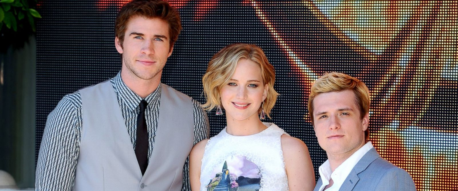"PHOTO: Liam Hemsworth, Jennifer Lawrence and Josh Hutcherson attend ""The Hunger Games: Mockingjay Part 1"" Photocall - at the 67th Annual Cannes Film Festival, May 17, 2014, in Cannes, France."