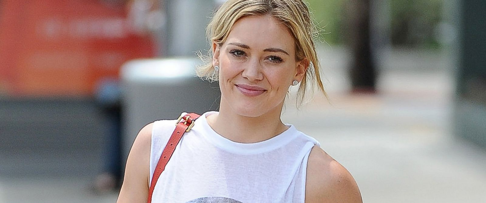 PHOTO: Hilary Duff is seen in Hollywood, Calif., July 28, 2014.