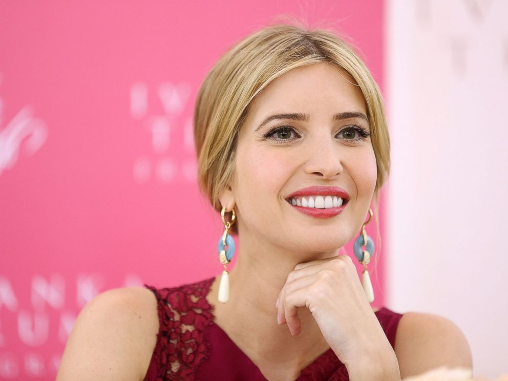 PHOTO: Ivanka Trump greets customers during the launch her new fragrance Ivanka Trump at Lord & Taylor on May 9, 2013 in New York City.