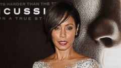 Jada Pinkett Smith Goes Sheer for Movie Premiere