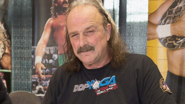 "PHOTO: Jake ""The Snake"" Roberts attends the 2013 Chicago Comic and Entertainment Expo, April 26, 2013, in Chicago, Ill."