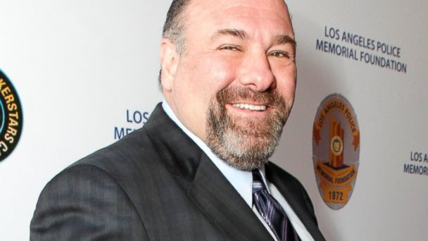 James Gandolfini attends the Los Angeles Police Memorial Foundations Celebrity Poker Tournament at Saban Theatre in Beverly Hills, Calif., April 27, 2013.