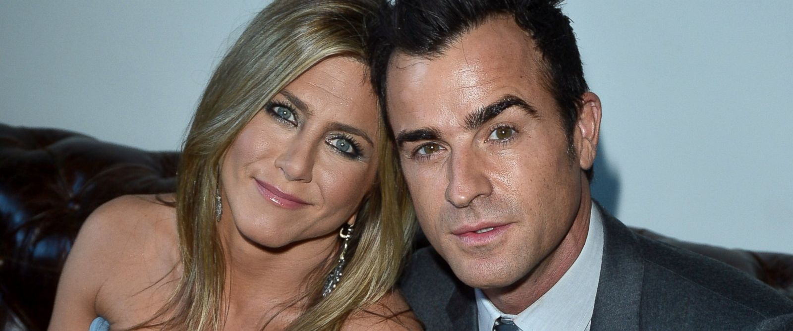 PHOTO: Jennifer Aniston and Justin Theroux attend the 2013 Toronto International Film Festival, Sept. 14, 2013 in Toronto, Canada.