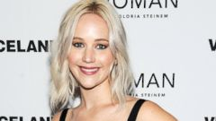 Jennifer Lawrence Stuns in Black