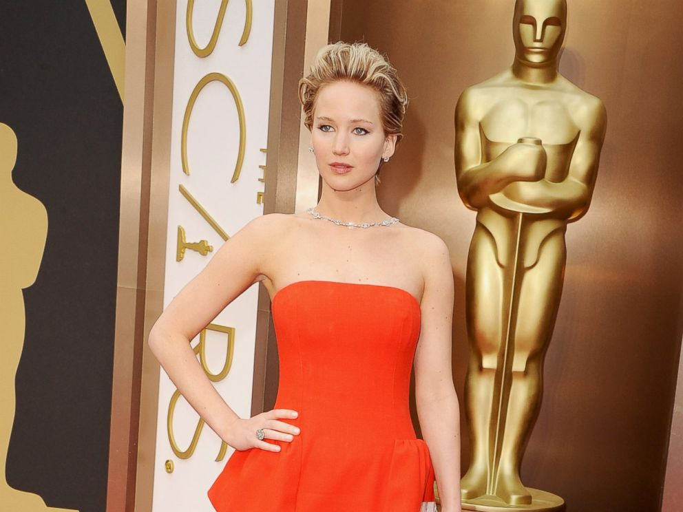 PHOTO: Jennifer Lawrence attends the Oscars held at Hollywood & Highland Center in Hollywood, Calif., March 2, 2014.