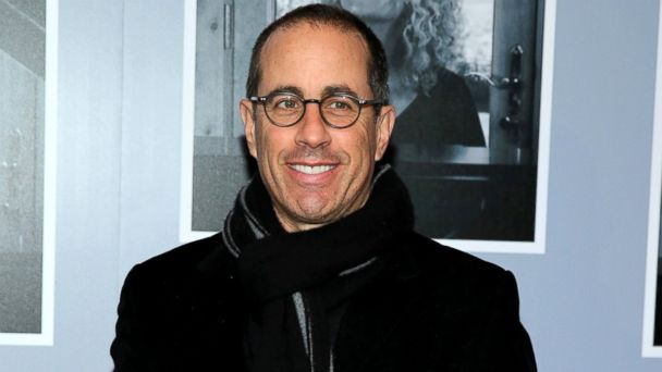 "PHOTO: Jerry Seinfeld attends the opening night of ""Beautiful - The Carole King Musical"" at The Stephen Sondheim Theatre, Jan. 12, 2014, in New York City."