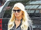 Jessica Simpson Struts Her Stuff in NYC