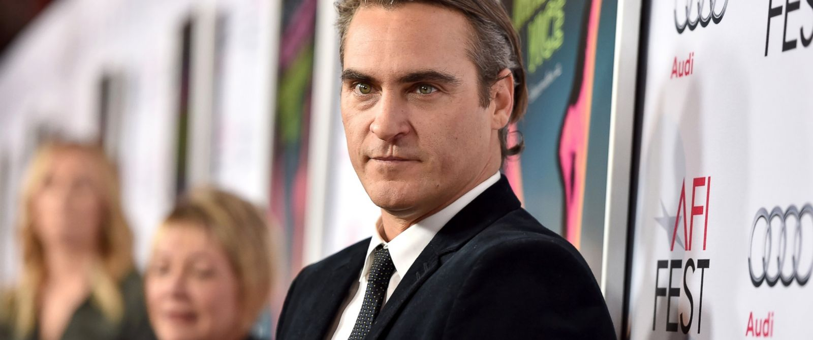 """PHOTO: Joaquin Phoenix attends the screening of """"Inherent Vice"""" during AFI FEST 2014 presented by Audi at the Egyptian Theatre, Nov. 8, 2014, in Hollywood, Calif."""