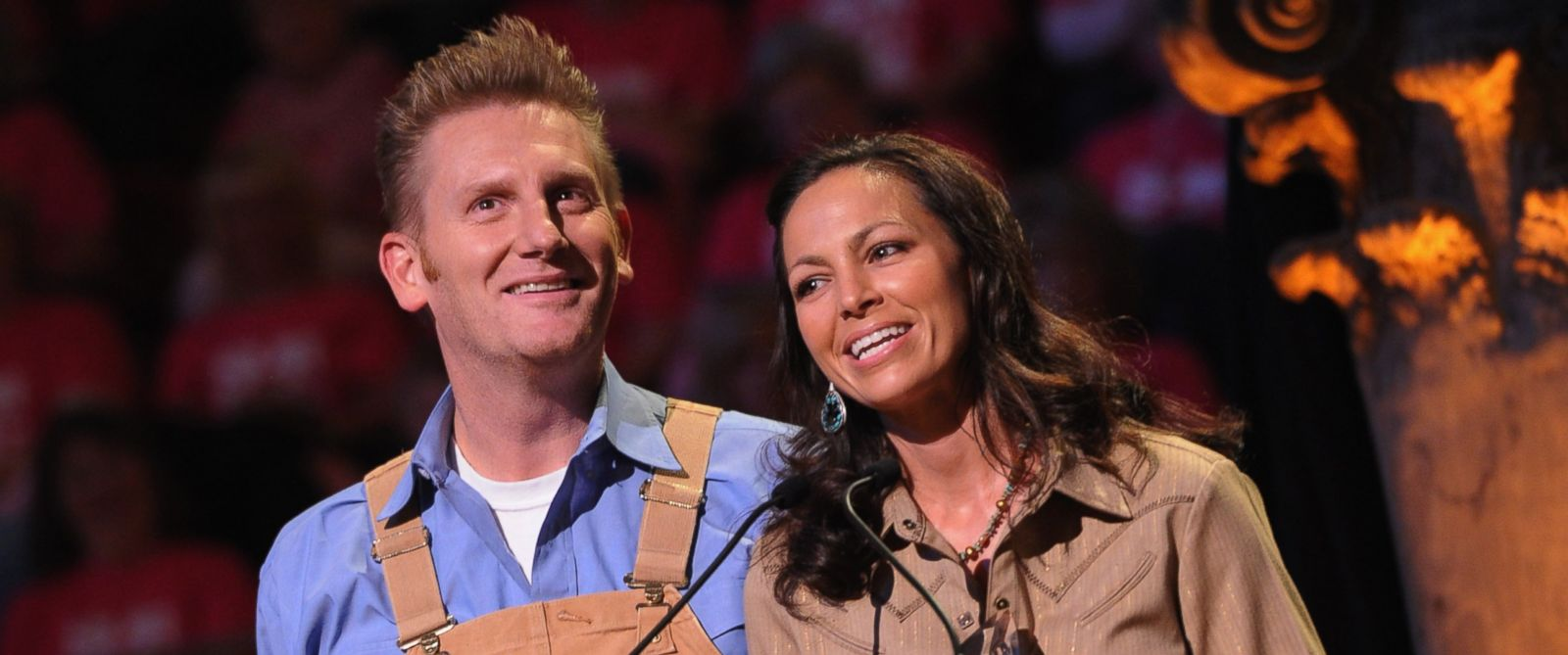 """PHOTO: Joey Martin Feek and Rory Feek accept """"Vocal Duo of the Year"""" at The 17th Annual Inspirational Country Music Awards at Schermerhorn Symphony Center on Oct. 28, 2011 in Nashville, Tenn."""