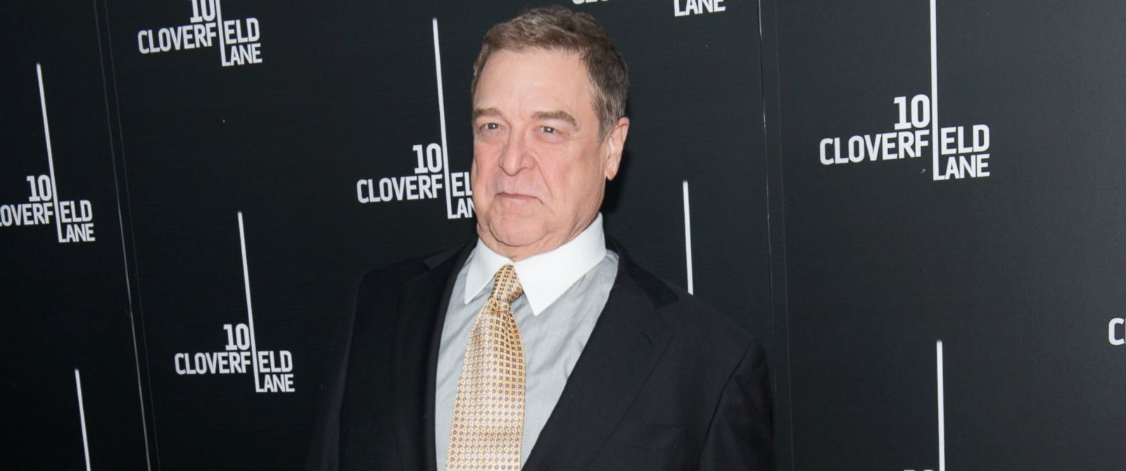 PHOTO: Actor John Goodman attends 10 Cloverfield Lane New York premiere at AMC Loews Lincoln Square 13 theater, March 8, 2016 in New York.