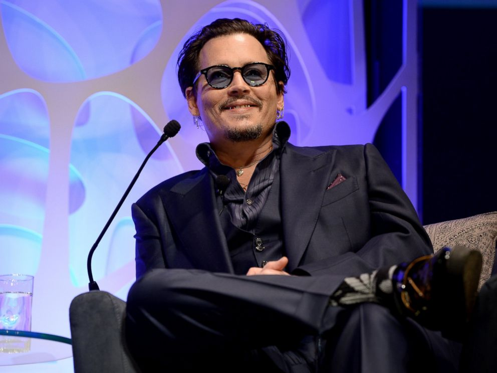 PHOTO: Johnny Depp appears onstage at The Santa Barbara International Film Festival, Feb. 4, 2016 in Santa Barbara, Calif.