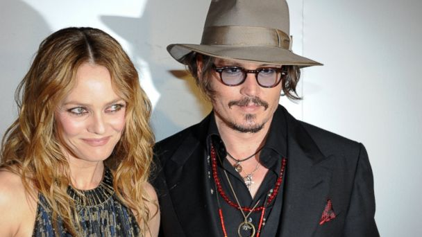 PHOTO: Vanessa Paradis and Johnny Depp arrive to attend the Figaro Madame/Chanel dinner during the 63rd Cannes Film Festival, May 18, 2010, in Cannes, France.
