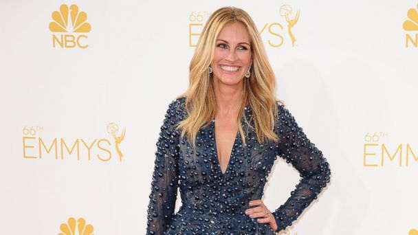 PHOTO: Actress Julia Roberts attends the 66th annual Primetime Emmy Awards at Nokia Theatre L.A. Live, Aug. 25, 2014, in Los Angeles.