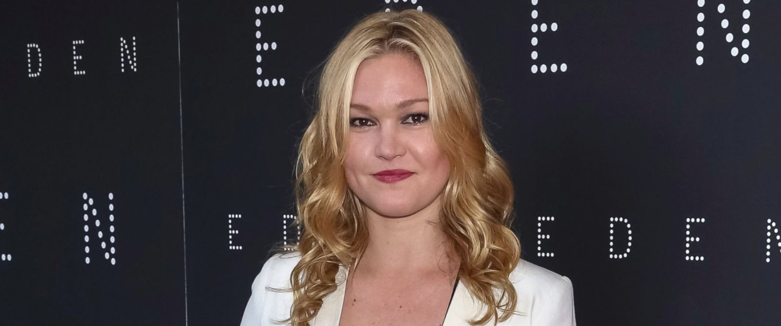 "PHOTO: Julia Stiles arrives for the New York premiere of ""Eden"" held at the IFC Center, June 8, 2015 in New York."