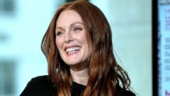Julianne Moore Promotes Her New Movie in NYC