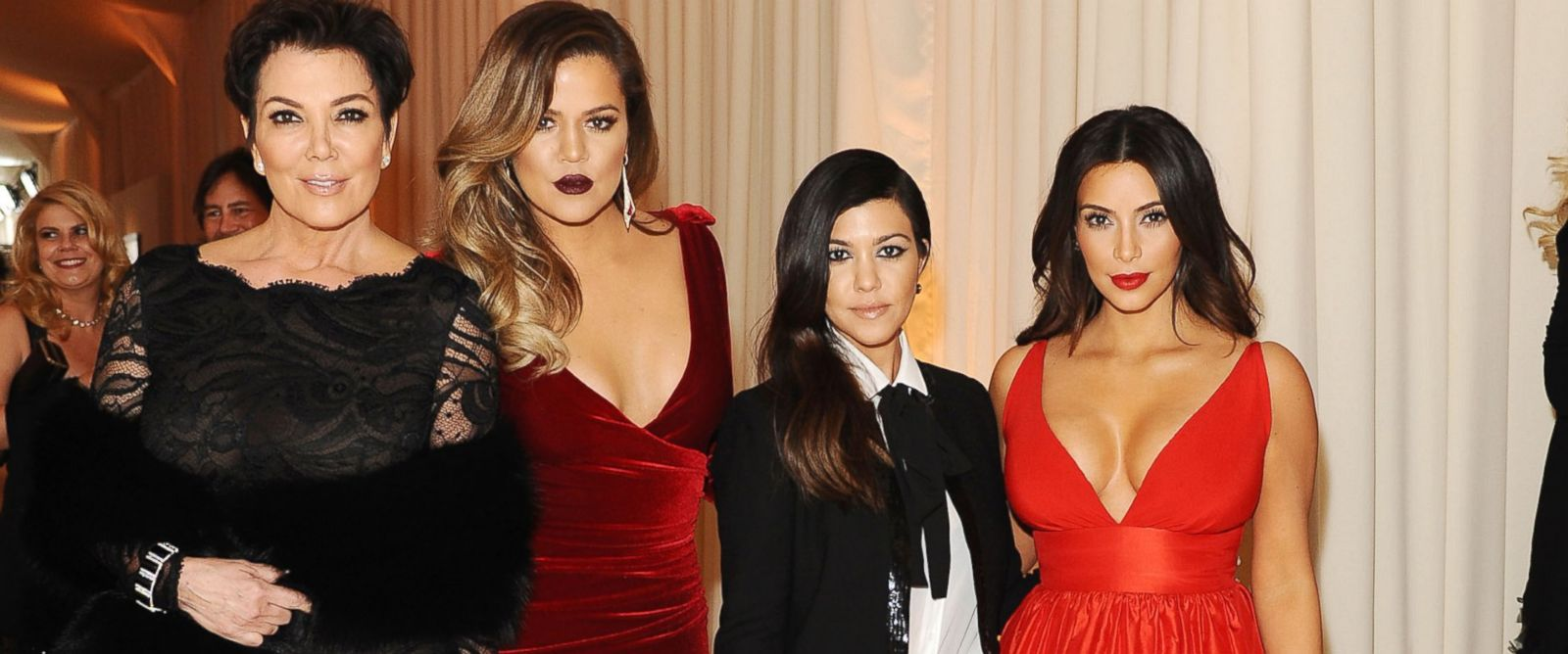PHOTO: Kris Jenner, Khloe Kardashian, Kourtney Kardashian and Kim Kardashian