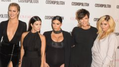 The Kardashian Family Celebrates Their Cosmo Cover