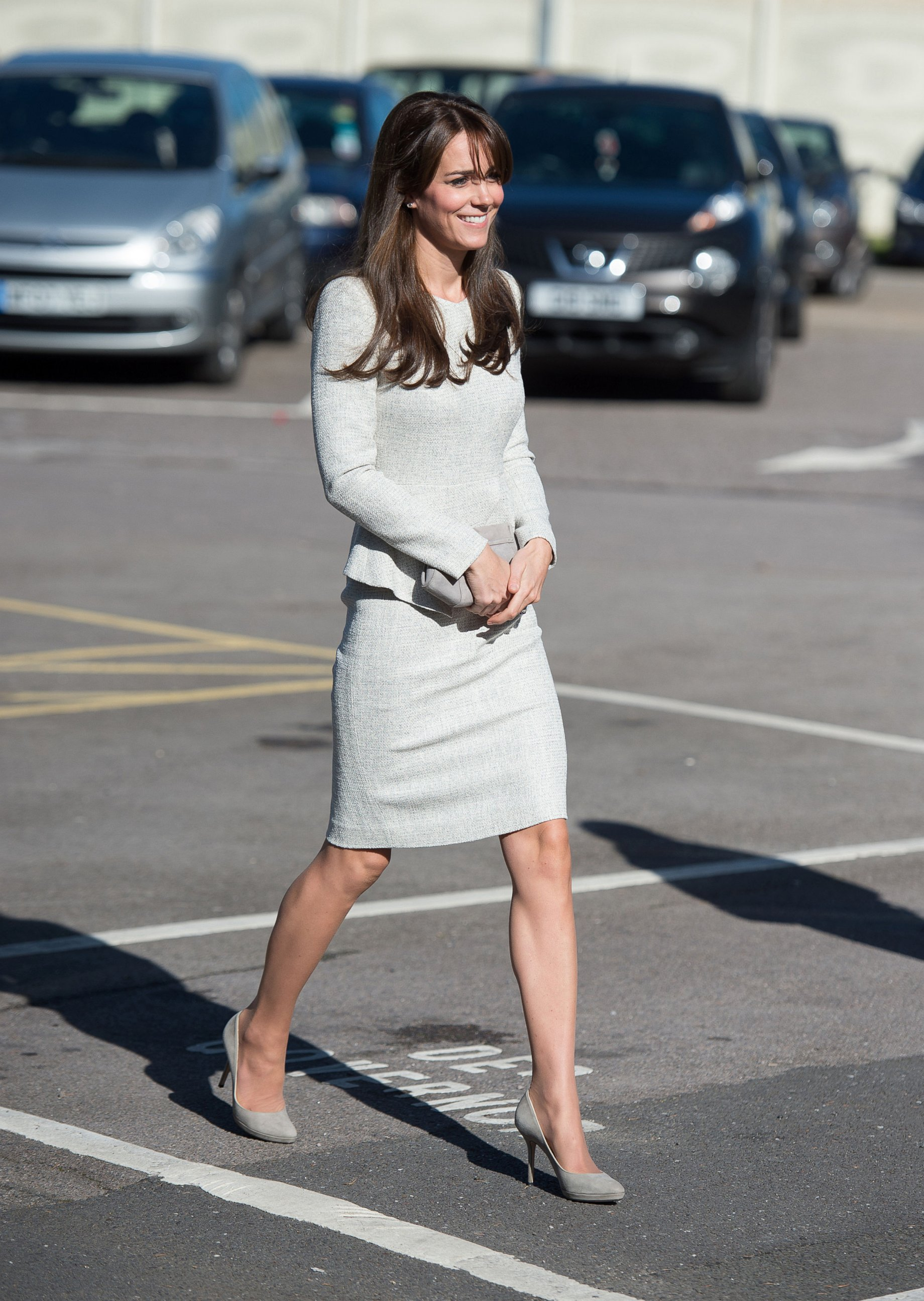 Duchess Kate Visits a Prison