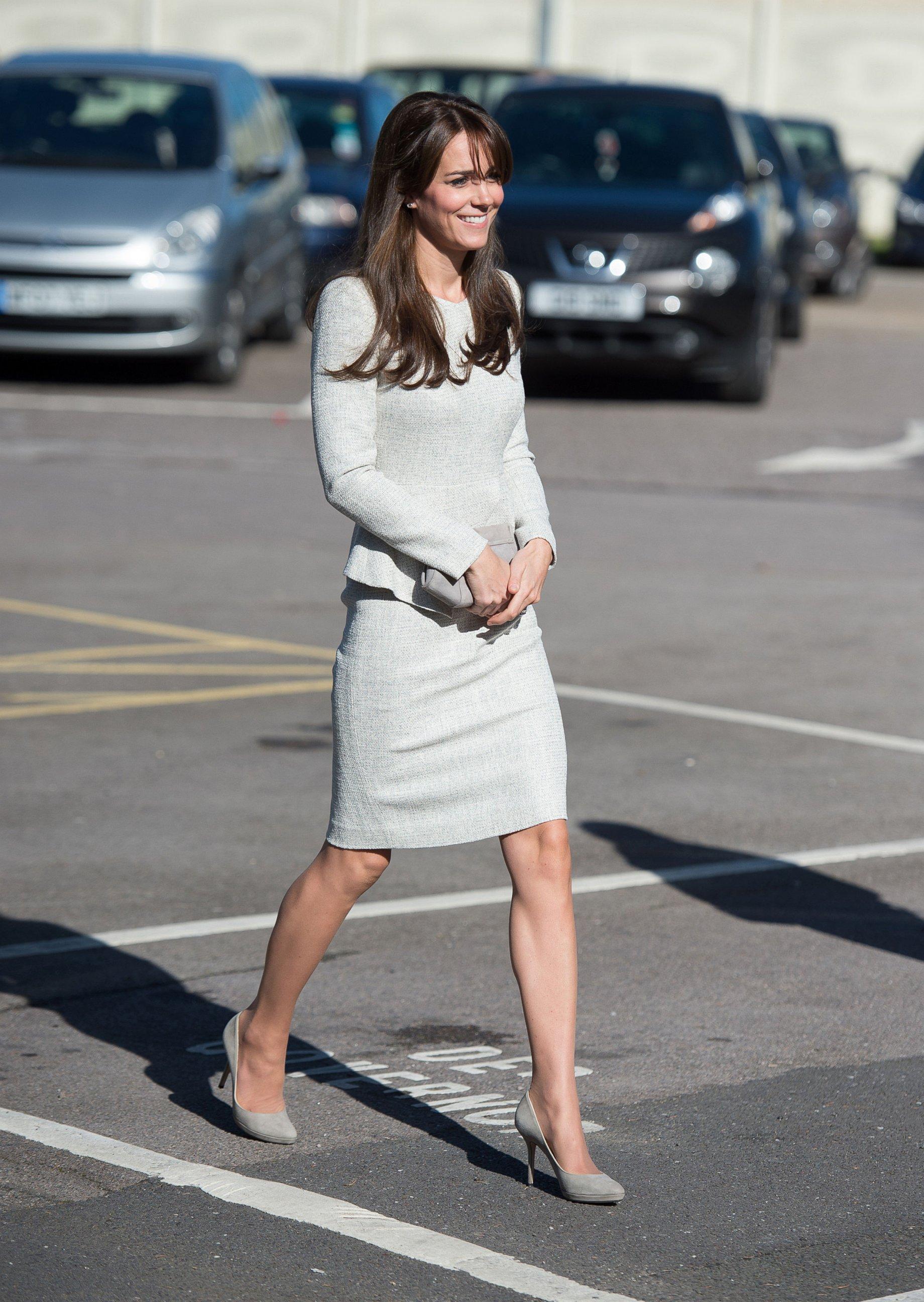 Duchess Kate Visits a Prison