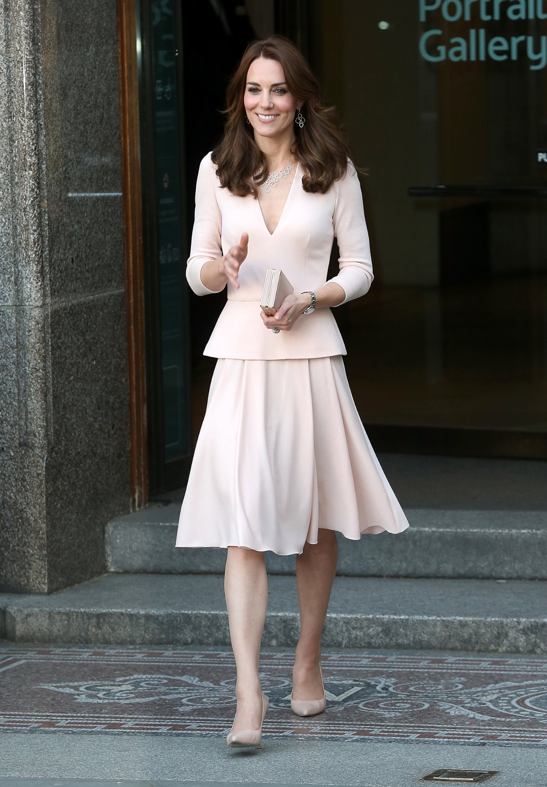 Duchess Kate Attends Her Portrait Unveiling