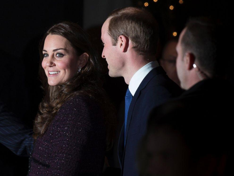 PHOTO: Prince William, Duke of Cambridge and his wife, Catherine, Duchess of Cambridge