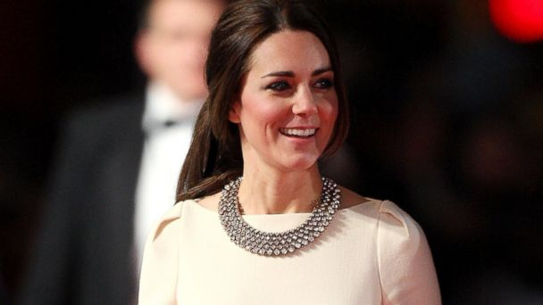 "PHOTO: In this file photo, Catherine, Duchess of Cambridge, attends the Royal film performance of ""Mandela: Long Walk To Freedom"" at Odeon Leicester Square on Dec. 5, 2013 in London."