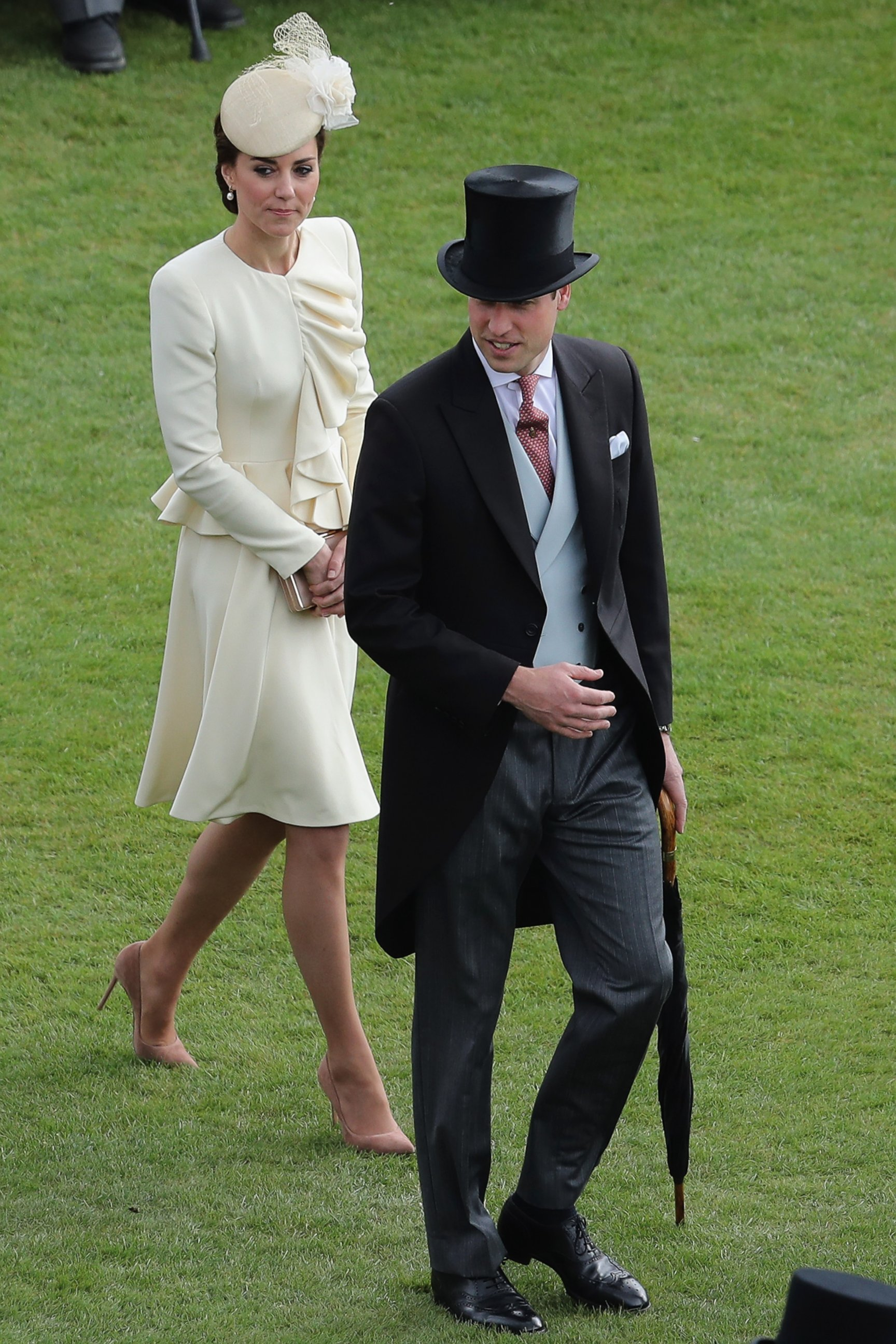 Duchess Kate and Prince William Attend a Garden Party