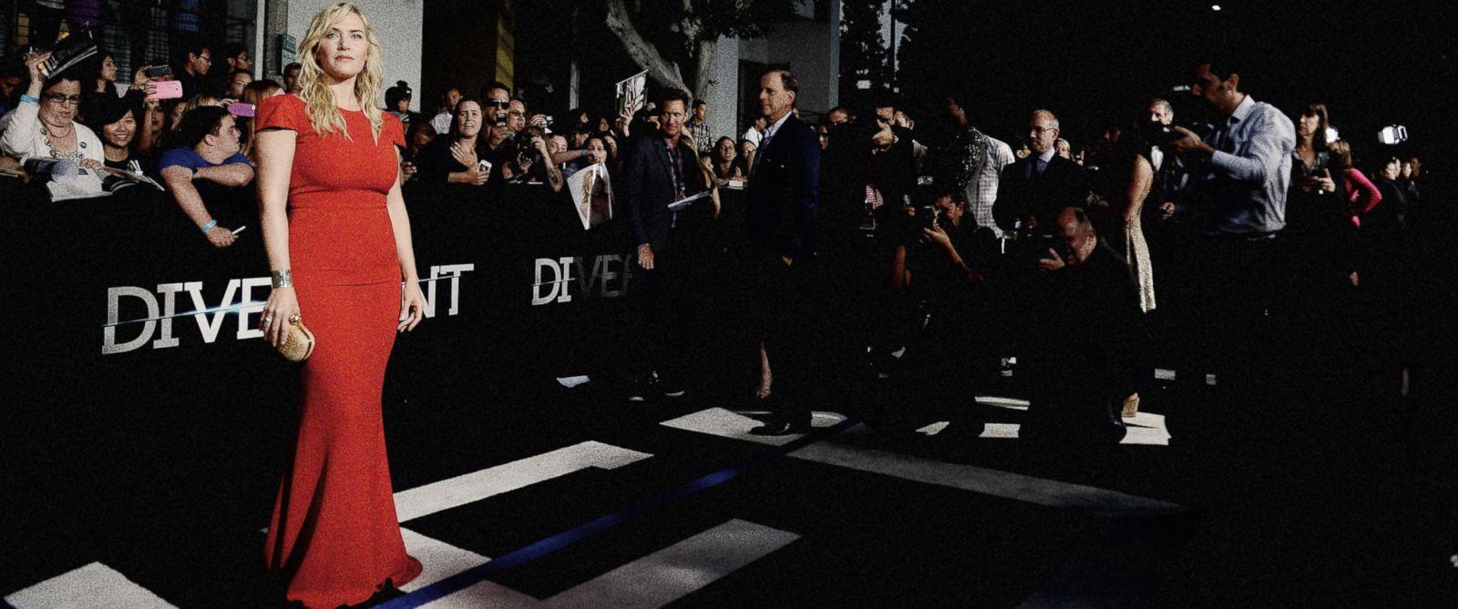 "PHOTO: Kate Winslet attends Summit Entertainments ""Divergent"" Premiere at Regency Bruin Theatre"