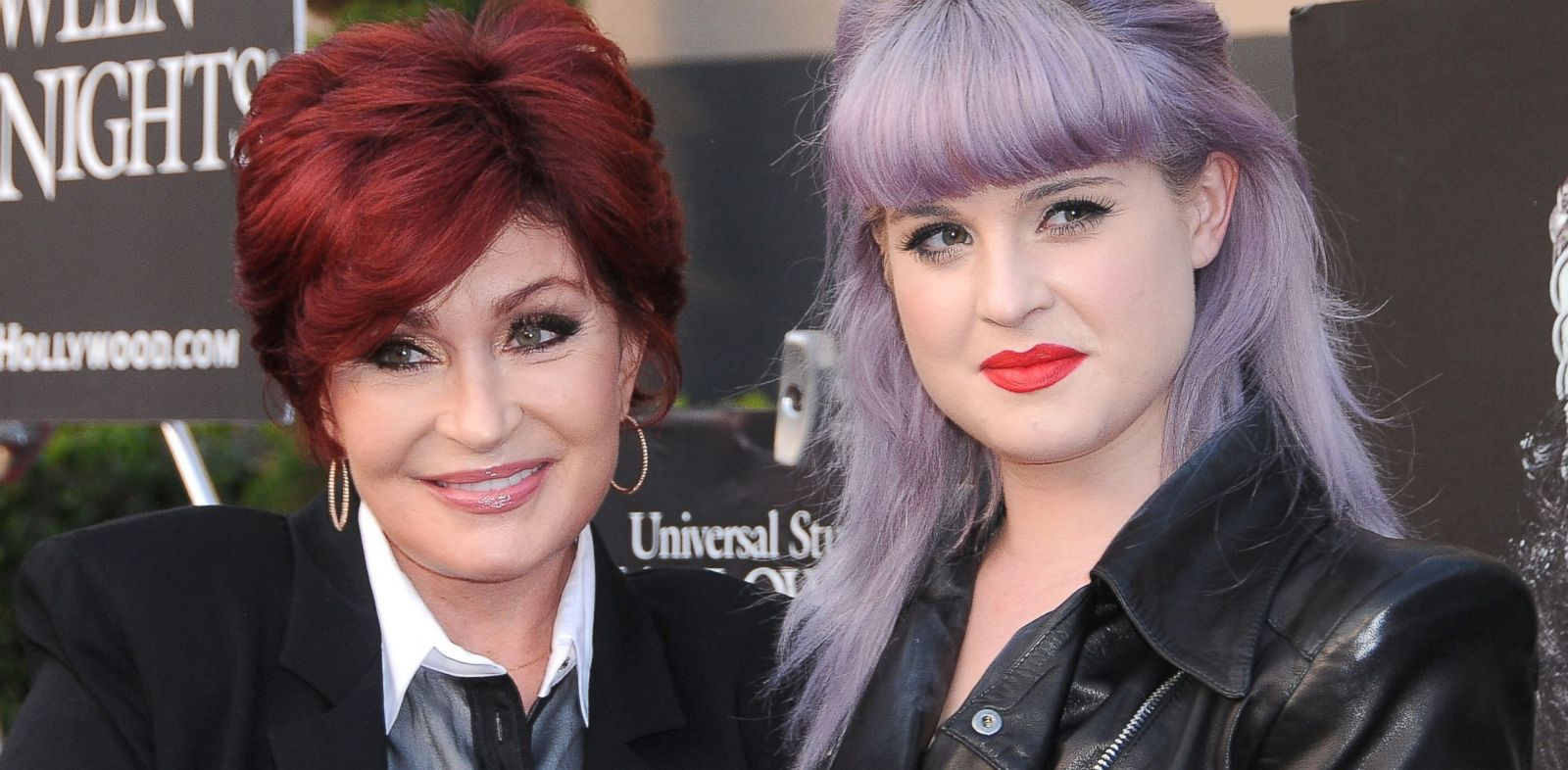 PHOTO: Sharon and Kelly Osbourne