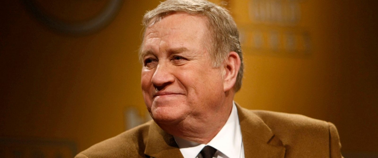 PHOTO: Ken Howard, the first elected President of the Screen Actors Guild-American Federation of Television and Radio Artists (SAG-AFTRA) walks won stage at the Pacific Design Center in Los Angeles, Dec. 11, 2013.