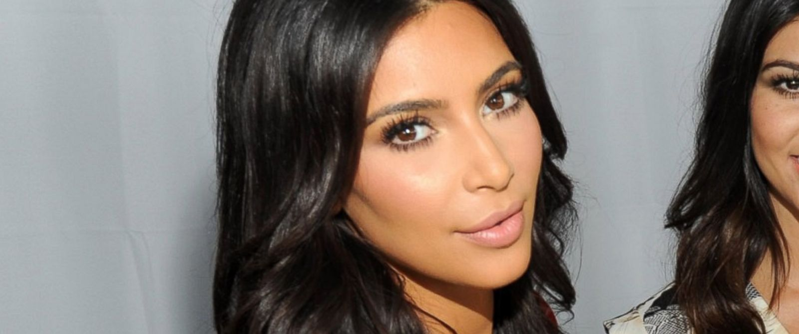 "PHOTO: Kim Kardashian joined Babies""R""Us to surprise military moms-to-be with gifts, including items from their Kardashian Kids collection, at an Operation Shower event at Battello in this July 7, 2014, file photo in Jersey City, New Jersey."