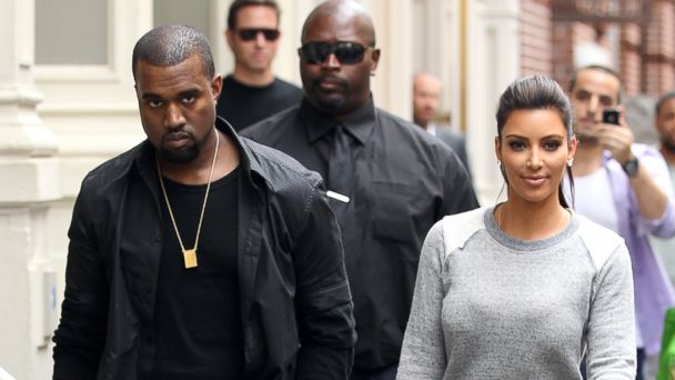 PHOTO: Kanye West and Kim Kardashian shop in Soho on April 21, 2012, file photo.