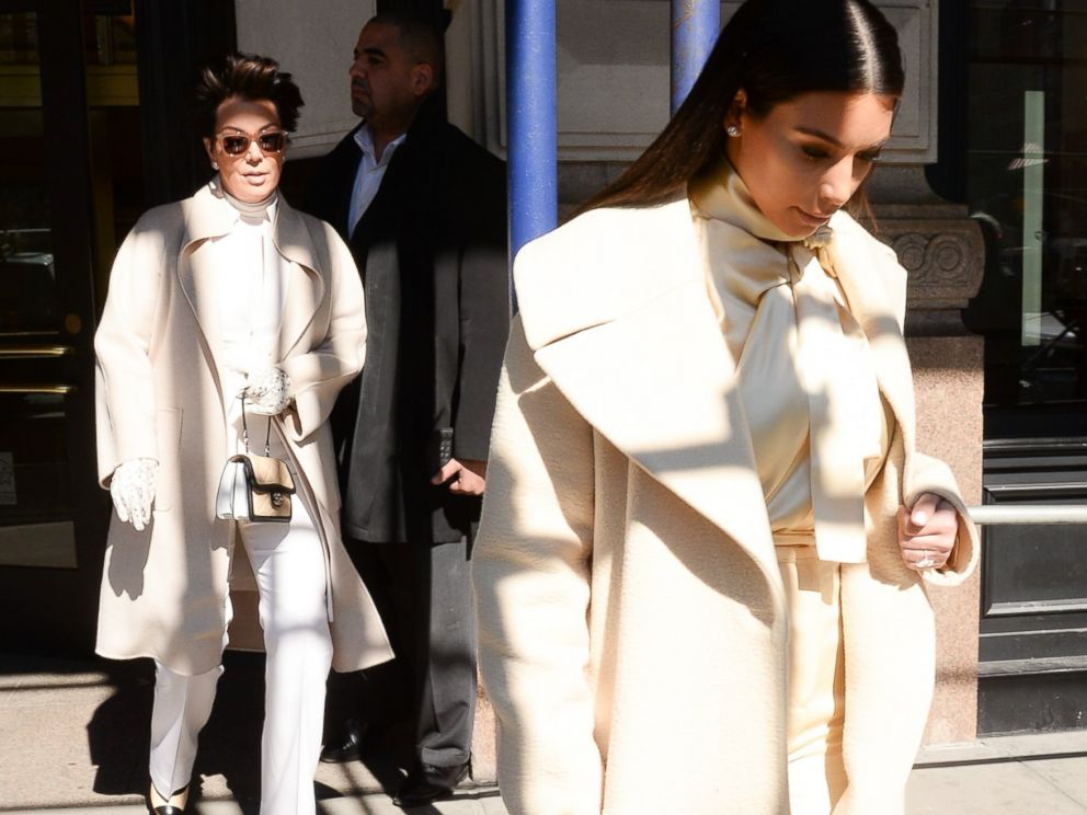 PHOTO: Kris Jenner and Kim Kardashian are seen in Soho, Feb. 24, 2014, in New York City.