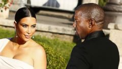Kim Kardashian and Kanye West Look Fierce in Rome