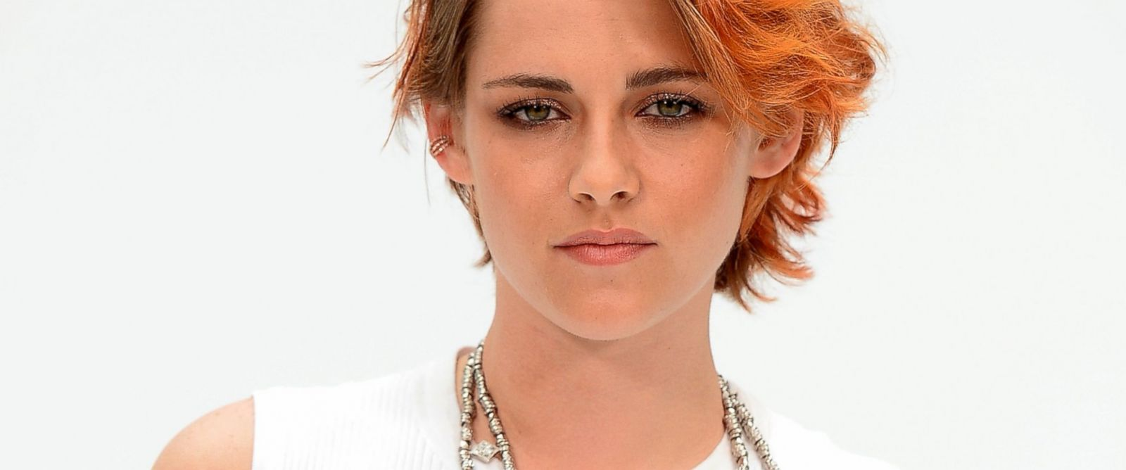 PHOTO: Kristen Stewart attends at Chanel show as part of Paris Fashion Week - Haute Couture Fall/Winter 2014-2015 at Grand Palais, July 8, 2014, in Paris.